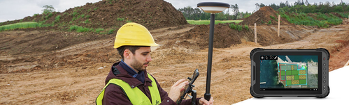 Leica Zeno Tab2 GNSS Rover System